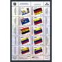 Estampillas Venezuela Serie Símbolos Patrios 2009 Banderas 1