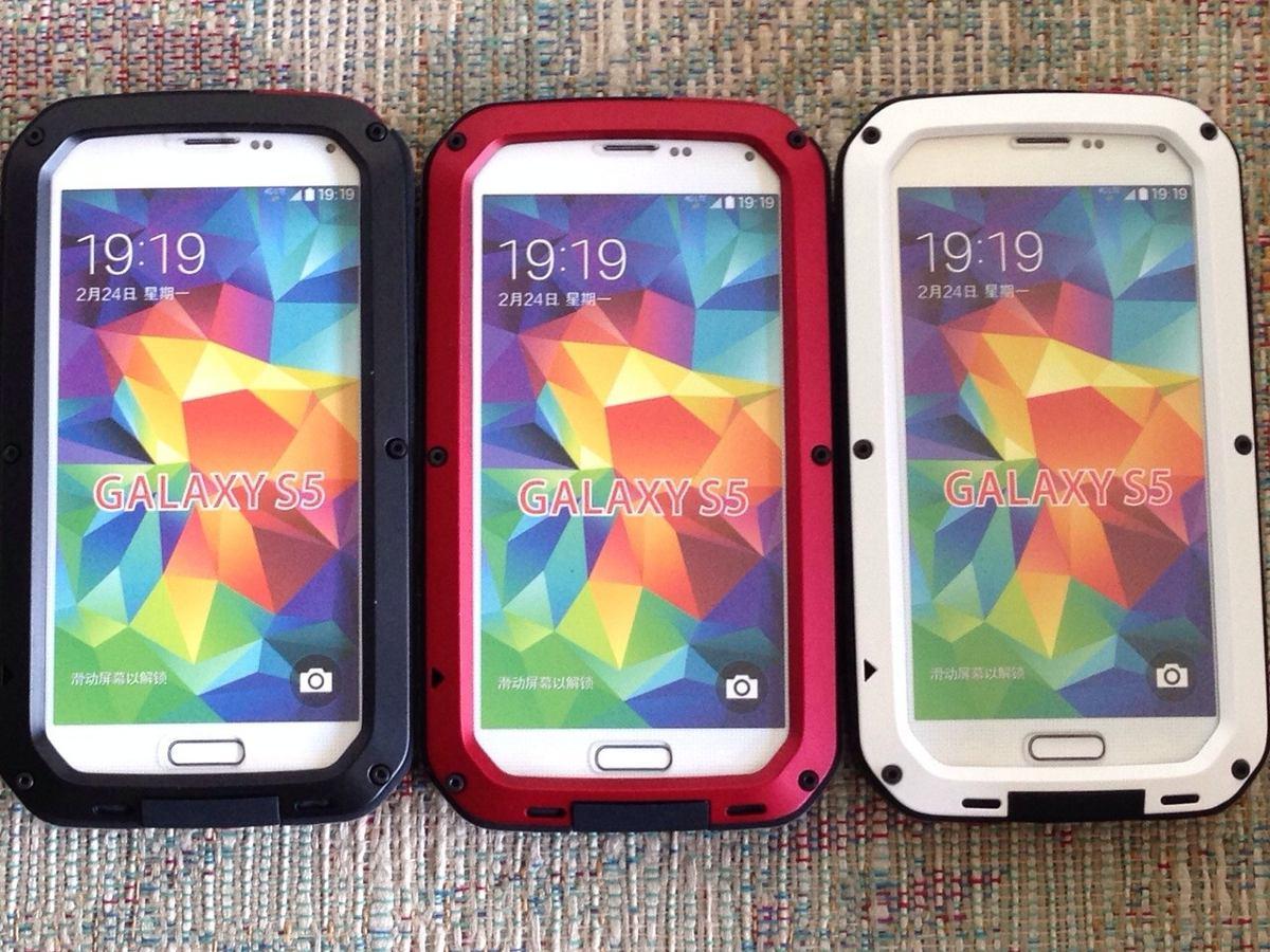 Protectores para celular lunatik samsung s5 y s6 580 for Protectores 3d para celular