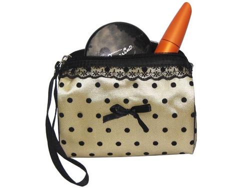 Estuches De Maquillaje Practico , Porta Cosmeticos Encaje