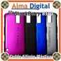 Forro Doble Plastico Silicon Blackberry Pearl 8100 Estuche