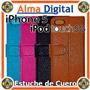 Estuche Cuero Iphone 5 Ipod Touch 5 Tipo Libreta Forro Prote