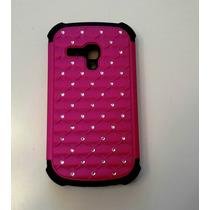 Forro Galaxy S3 Mini Antigolpes Diamond Defender Case