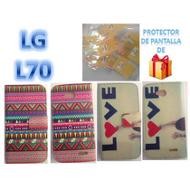Forro Telefono Lg L70