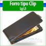 Lg Optimus L5 E610 E612g Forro Cuero Estuche Funda Cover Cas