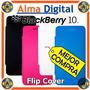 Estuche Flip Cover Blackberry Z10 Forro Protector Funda