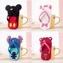 Forro Protector Iphone 5 5s 4 4s Chola Disney Mickey Stitch
