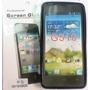 Forro Gel + Lámina Protectora Huawei Ascend G510