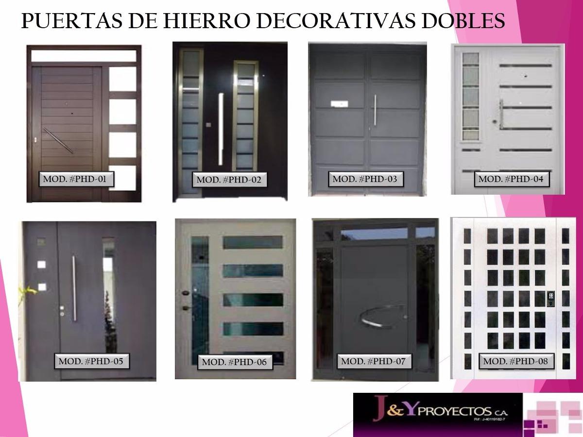Modelos de puertas metalicas para casas ltimo modelo for Modelos de puertas de hierro con vidrio