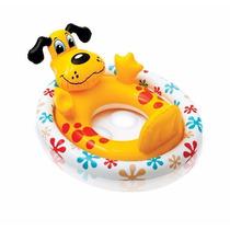 Flotador Inflable Para Niños(orificios) Animales 59570 Intex