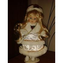 Muñeca De Porcelana Para Colección
