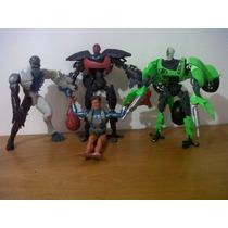 4 Muñecos Max Steel Por 24.000 Elementor,citros Y Max