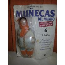 Muñeca De Autentica Porcelana Colección Del Mundo. Sellada