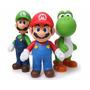 Muñecos De Super Mario De Colección 23cm