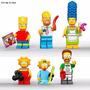 Mini Figuras Para Armar The Simpsons Compatibles Con Lego