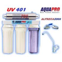 Planta Purificadora Por Luz Ultra Violeta (uv) Aquapro Uv401