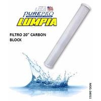Purepro Filtro 20 Carbon Block Activo Osmosis Inv Industria