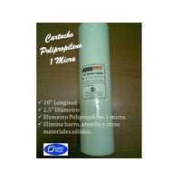 Filtro Agua / Cartucho Osmosis Inversa Polpropileno 1 Micra