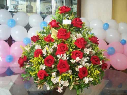Arreglos Florales Y Con Globos Imagui