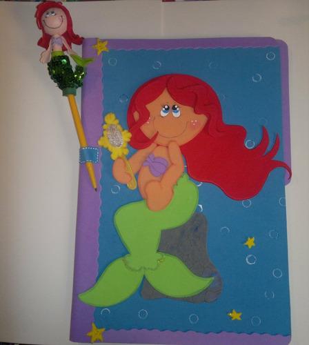Como decorar una carpeta para niño con foami - Imagui