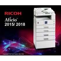 Manual De Servicio Técnico Ricoh 2015 / 2018