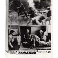 Schwarzenegger , 2 Fotos De Cine De Acción 8x10,