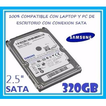 Disco Duro Para Laptop De 320 Gb En Oferta