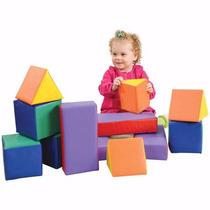 Bloques Figuras Primarias Juegos Niños Y Niñas Mini Gym
