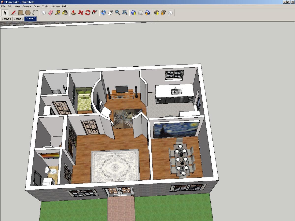 DataLife Engine Версия для печати дизайн квартиры google sketchup pro