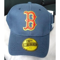 Gorra Boston Red Sox Flex Cerrada 7 1/4 Azul.