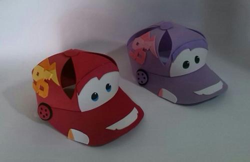 Gorras Foami Para Fiestas, Cars, Minions, Mickey, Kity, - Bs. 430 ...
