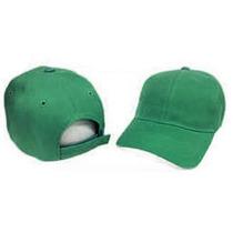 Gorras Unicolor Verde Brazil Con Cierre Magico