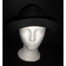 Sombreros Estilo Borsalino, Rayados Alta Calidad