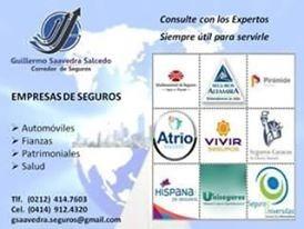 Guillermo Saavedra Salcedo --- Corredor De Seguros Y Fianzas