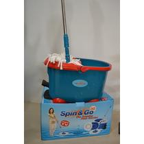 Spin Go Mp-11, Centrifugado En El Tobo Y En El Palo, Azul