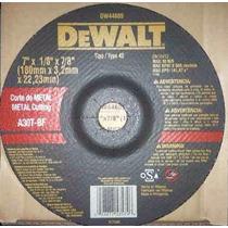 Disco De Corte Dewalt 7 Dw44605 Original