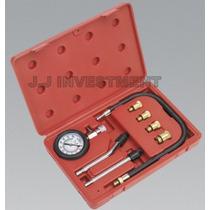 Medidor De Compresión Motores A Gasolina 9 Piezas + Obsequio