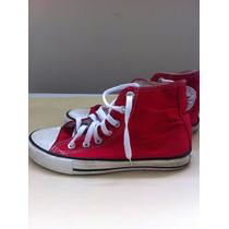 Zapatos Media Bota All Star Converse Talla 34,5 Unisex