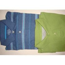 Juvenil Chemise De Algodón Importada T - S.(16/18) Verde.