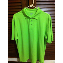 Chemise Unicolor Verde Talla L Marca Champion