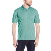 Chemises Camisas Marca Haggar Talla M Color Verde