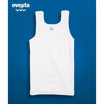 Camiseta Blanca Ovejita Para Niños, Talla 10-12
