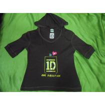 Camisa Franela One Direction Artistas Online Talla 8