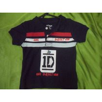 Camisa One Direction Artistas Online Talla 1