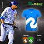 Camisas Deportivas Lisson Sportwear (tipo Dri - Fit)