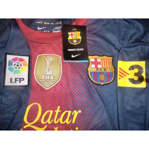 Oferta Camiseta A1 Manga Larga Barcelona Escudo Champions