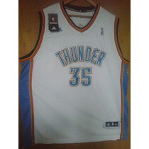 Camiseta Nba, Thunder Kevin Durant # 35 Local, Talla 2xl.