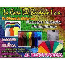 Franelas Unicolor Atlética.microperforada