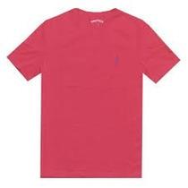 Franela Unicolor Roja/gris Náutica Original Talla M