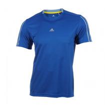 Franela Adidas Climalite Color Azul Rey Caballeros Original