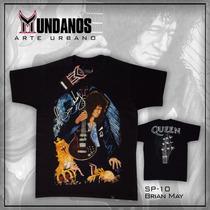 Franela Rock Metal Queen - Brian May